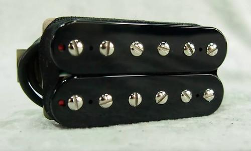 Bare Knuckle Aftermath open bridge humbucker pickup black 53 wide spacing