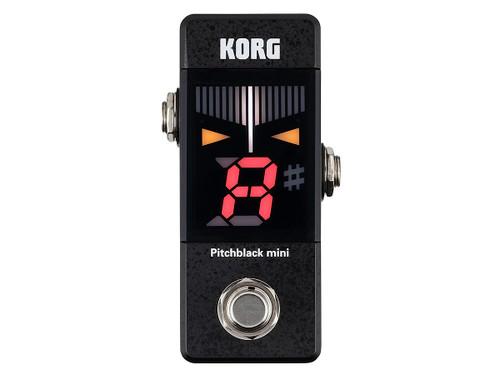 NEW! Korg Pitchblack Mini Pitch Black PB-Mini tuner pedal
