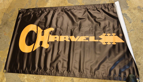 Charvel Logo 3'x5' vinyl banner