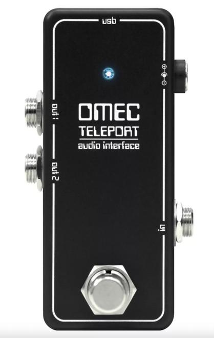 NEW! Orange OMEC Teleport Audio Interface pedal