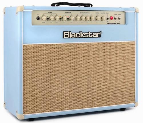 Blackstar HT Club 40 MkII all tube guitar combo amp Black And Blue Edition