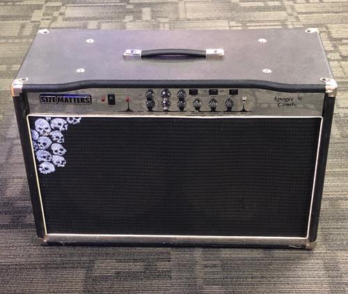 USA Jackson Apogee 50 electric guitar 2x12 all tube combo amp