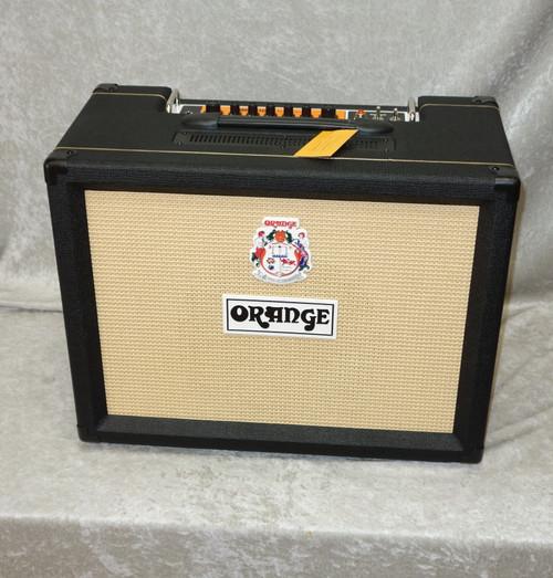 "Orange TremLord 30 1x12"" 30-watt guitar combo amp in black finish"