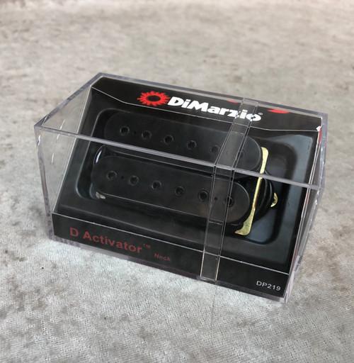 Dimarzio DP219 D Activator neck black coils with black bolts