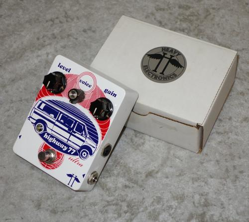 Heavy Electronics Highway 77 Ultra Custom Shop overdrive pedal