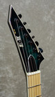NEW! ESP E-II M-II NT electric guitar in black turquoise burst with case