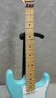 Warmoth Stratocaster Partscaster with original Floyd Rose in Sonic Blue