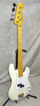 NEW! Vintage V4M bass guitar in Vintage White finish V4MVW