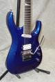 Jackson Wildcard SL27 EX 27 fret Soloist in blue sparkle