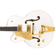 Pre-order! 2021 Gretsch G6136TG-LH Players Edition Falcon™ Hollow Body in white