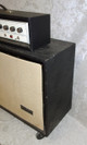 Vintage 1960's Silvertone 1465  guitar amp with matching 6x10 cabinet