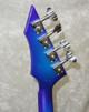 1987 USA BC Rich Ironbird bass guitar refinished in blue/purple burst + case