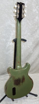 NEW! Rock N Roll Relics Thunders DC guitar in Army Green/Red Star