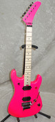 In Stock! 2021 EVH 5150 Series Standard, Maple fretboard guitar neon pink
