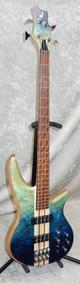 In Stock! 2021 Jackson Pro Series Spectra Bass SBA V blue burst
