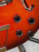 Vintage 1960's Airline H54 hollow body electric guitar & case (rarer 6 in line)