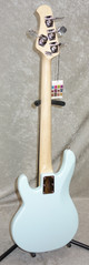 NEW! Sterling by Music Man RAY4SS StingRay in Daphne Blue Ray 4 bass short scale
