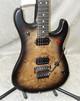 In Stock! 2021 EVH 5150 Series Deluxe Poplar Burl guitar in black burst (0940)