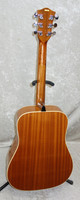 Vintage made in Germany Hofner dreadnought acoustic guitar with case