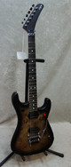 In Stock! 2021 EVH 5150 Series Deluxe Poplar Burl guitar in black burst (2747)