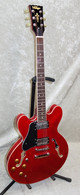 In Stock! Vintage VSA500 ReIssued Semi Acoustic Guitar cherry red lefty
