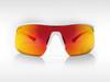Sunglasses SPEED Gruppo White - Red Mirror