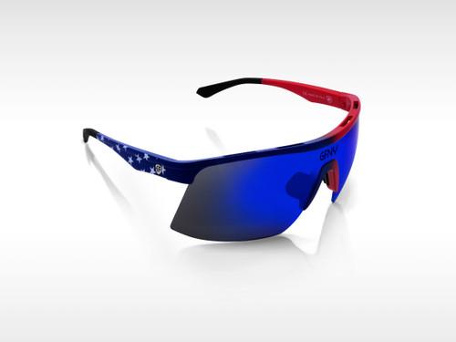 Sunglasses SPEED Gruppo USA - Blue Mirror