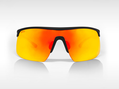 Sunglasses SPEED Gruppo Black - Red Mirror