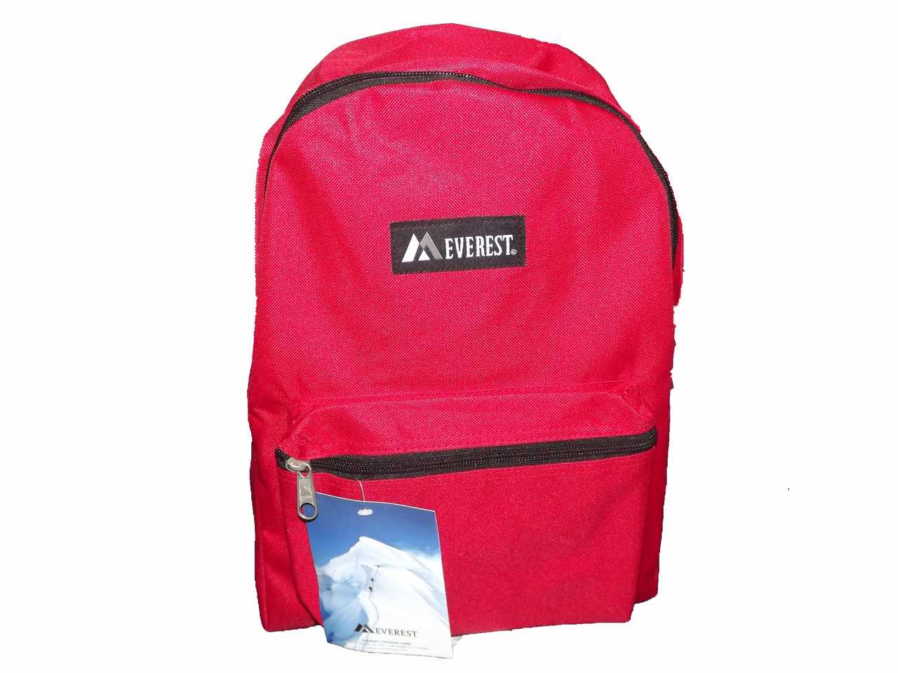 898ab28bfb Everest Red Basic Backpack - Curious Bazaar