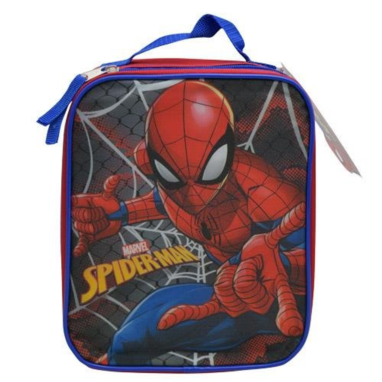 BOYS-OFFICIAL IRON SPIDERMAN LUNCHBAG WITH SHOULDER STRAP