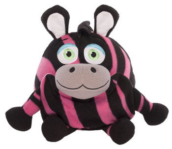 Jay A Play Zebra  Pajamas Wearable Stuffed Animal Small