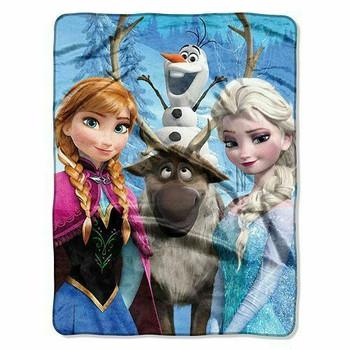 Disney Frozen Silk Touch Throw