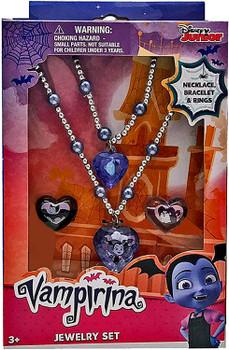 Disney Junior: Vampirina Jewelry Set with Bracelet Necklace and Rings