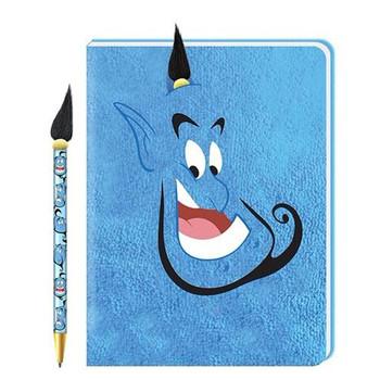 Disney Aladdin Genie Plush Journal and Pen