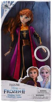 """Disney Frozen 2 Anna Singing Doll 11"""""""