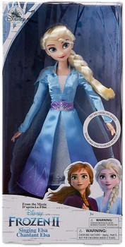 "Disney Frozen II Elsa Singing Doll 11"""