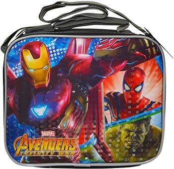 Marvel Avengers Soft Rectangle Prism Effect Lunch Bag