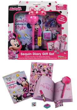 Disney Junior Minnie Mouse Diary Set
