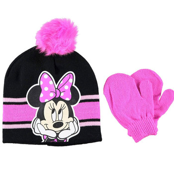 Disney Minnie Mouse: Pink Beanie Glove Set