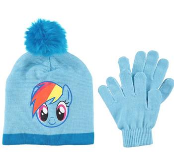 My Little Pony: Rainbow Dash Beanie Glove Set