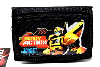 Transformers Bumblee Bee- Black Tri-Fold Wallet