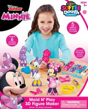 Disney Minnie Mouse: Mold N' Play 3D Figure Maker