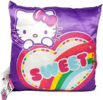 "Sanrio Hello Kitty: Pillow Purple - 14"""