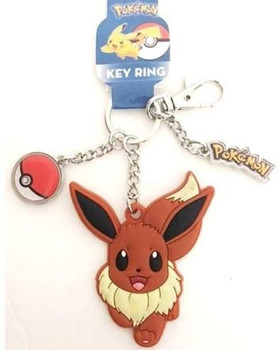 Pokemon Eevee: Keychain charm