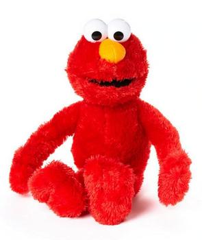 "Sesame Street Elmo Plush Doll 19"""
