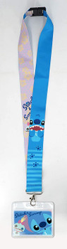 Disney Stitch Deluxe Lanyard, Multicolor, One Size