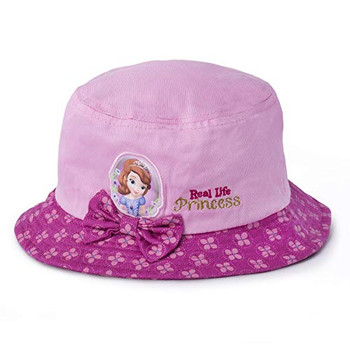 Disney Sofia the First Bucket Hat Bow - 3 to 7 yrs