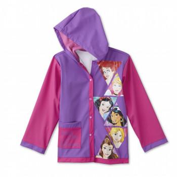 Disney Princess Rain Coat 2T-4T Purple