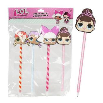 Lol Surprise Party Favor 4 pcs - Pen Pack