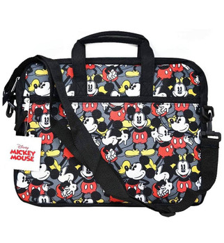 Mickey Mouse All Over Print Laptop and Tablet Bag Case with Shoulder Strap
